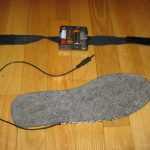 Как сделать теплые стельки с подогревом для зимней рыбалки