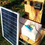 Самодельная зарядка автомобильного аккумулятора на солнечных батареях