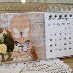 Самодельный перекидной календарь на стену для себя и в подарок близким