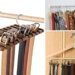 Вешалка-держатель для ремней и галстуков своими руками