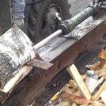 Простое устройство для быстрой колки дров своими руками