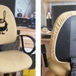 Самодельное кресло с подъемным механизмом из того, что под рукой