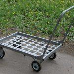 Как сэкономить на покупной грузовой тележке с помощью самодельного приспособления