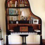 5 идей оригинальной мебели из старого сломанного рояля