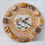 Как из ненужного подноса сделать настенные часы