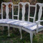 Как из пары старых стульев смастерить скамейку