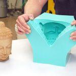 Как сделать гипсовую форму для отливки силиконовых деталей