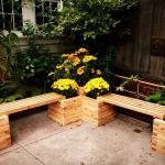 Как из старых деревянных балок сделать уличную скамейку
