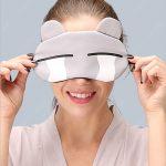 Как сшить удобную маску для сна и перелетов из того что под рукой