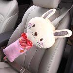 Мягкая подушка на детский ремень безопасности в авто своими руками