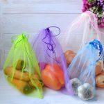 Как пошить многоразовые мешки для фруктов и овощей из того, что под рукой
