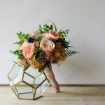 Как сделать букет из стабилизированных цветов, который не вянет годами