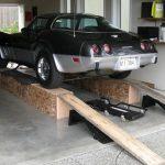 Мини-рампа для машины своими руками из того, что найдется в гараже