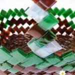 Суперпрочная корзина из пластиковых бутылок: как сплести самостоятельно