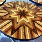 Как сделать из ненужных досок мозаичное панно для столешницы невероятной красоты