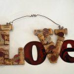 Как сделать пробковые буквы для декора интерьера из того что под рукой
