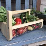 Садовая корзина для сбора урожая своими руками
