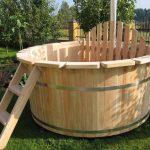 Как сделать деревянную купель для бани на даче из того, что под рукой