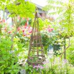 Как смастерить опоры для вьющихся растений из того, что под рукой