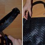 Как дать новую жизнь потрескавшимся ручкам на сумке