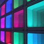 Как самостоятельно сделать подсветку стеклоблоков в жилом помещении