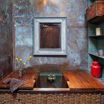 Как своими руками сделать эффект декоративной ржавчины в стиле лофт на стенах
