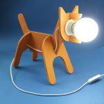Как сделать необычный светильник-собаку