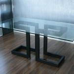 Как сделать стол из профильной трубы и стекла
