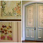 5 дешевых способов декора межкомнатных дверей