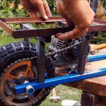 Как своими руками сделать электросамокат из автомобильного генератора