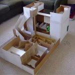 Как сделать картонный лабиринт для своего хомячка