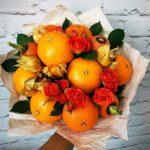 Как сделать оригинальный подарок в виде фруктового букета