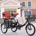 Превращаем двухколесный велосипед для взрослых в трехколесный
