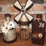 10 способов красиво декорировать бутылки к разным праздничным событиям