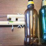 Как сделать батут из пластиковых бутылок