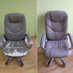 Как самостоятельно перетянуть офисное кресло, чтобы выглядело как новое