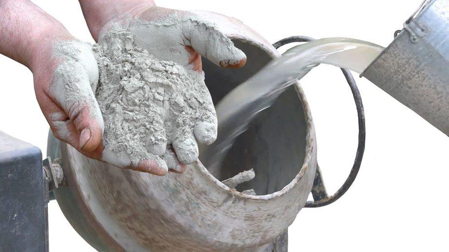 Бетон становится бетон новоселки