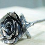 Самодельная металическая роза, инструкция по изготовлению
