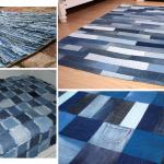 Как превратить старые джинсы в коврик для ванной