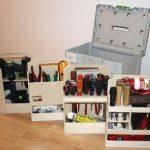 Самодельный и вместительный органайзер для инструментов