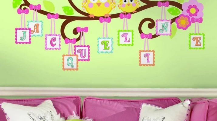 Как выбрать наклейки для интерьера комнаты мальчика и девочки