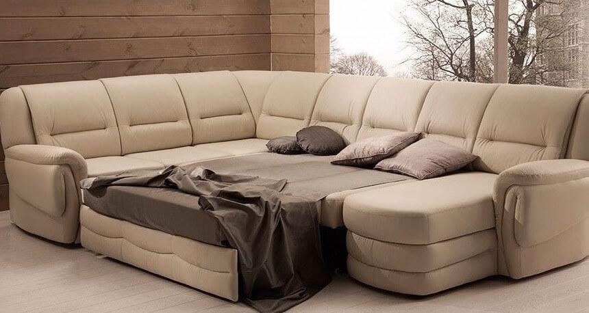 Основные плюсы и особенности угловых диванов