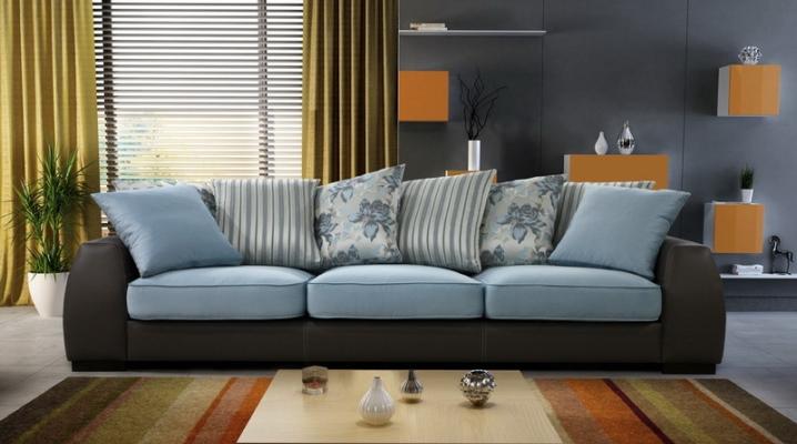 Как выбрать ткань обивки дивана в зависимости от комнаты
