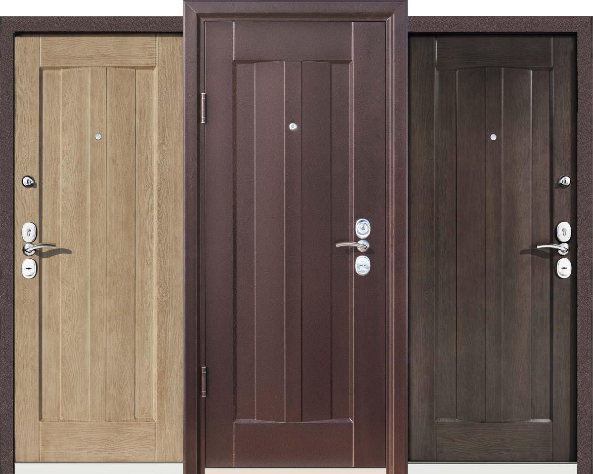 Основные свойства и особенности металлических дверей