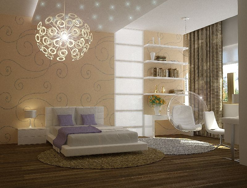 Как сделать освещение спальни практичным