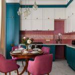 Лучшие сочетания цветов в одном кухонном гарнитуре