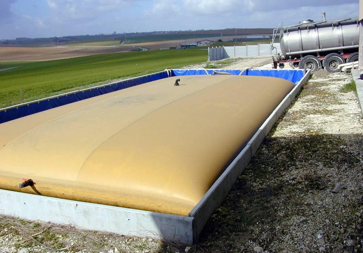 Применение эластичных резервуаров