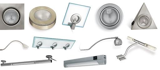 Основные виды мебельных светильников