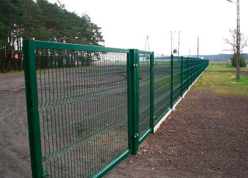 Секционный забор - отличный вариант