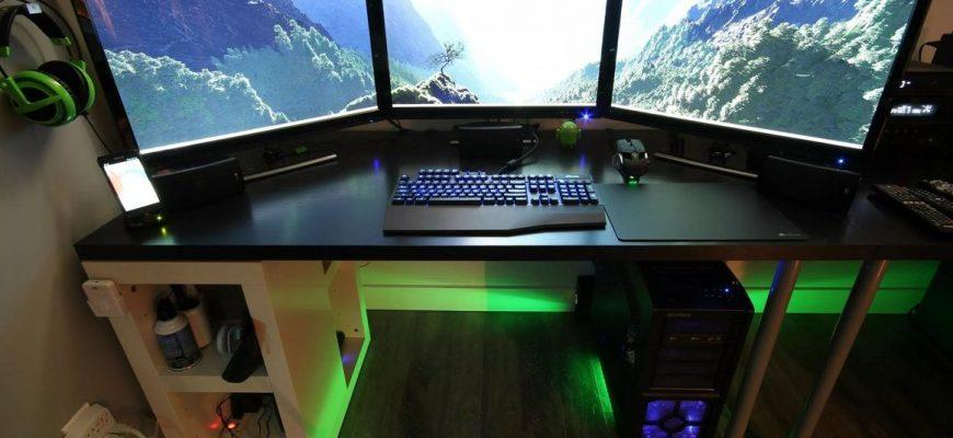 Особенности выбора геймерского стола